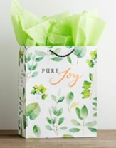 Pure Joy, Copper Foil Stamped, Giftbag, Large