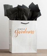 Simple Goodness, Copper Foil Stamped, Giftbag, Medium