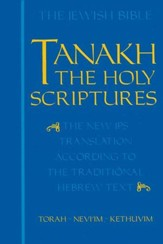 Tanakh: The Holy Scriptures, Cloth Edition