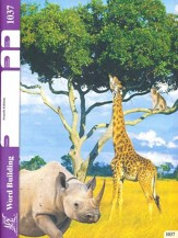 Word Building PACE 1037, Grade 4  (4th Edition)