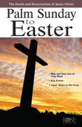 Palm Sunday to Easter - eBook
