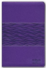 Biblia del Pescador NTV, Simil Piel, Violeta Perlado  (NTV Fishers of Men Bible, Metallic Purple Leathertouch)