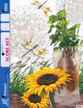 4th Edition Science Score Key 1016, Grade 2