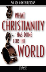 What Christianity Has Done for the World - eBook