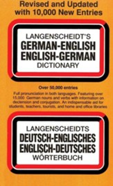 Langenscheidt's German-English, English-German Dictionary, Revised and Upd