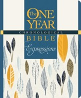 The One Year Chronological Bible Creative Expressions, Hardcover