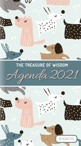 2021 Treasure of Wisdom Pocket Planner, Dogs