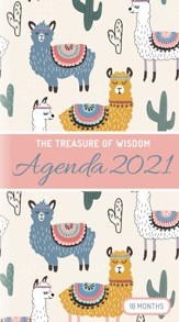 2021 Treasure of Wisdom Pocket Planner, Ilamas