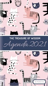 2021 Treasure of Wisdom Pocket Planner, Cats