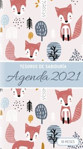 2021 Planificador: Tesoros de Sabiduria - zorros  (2021 Treasure of Wisdom Pocket Planner, Foxes)