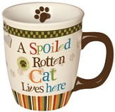 A Spoiled Rotten Cat Lives Here, Mug in a Gift Box