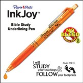 Inkjoy, Bible Study Pen, Orange