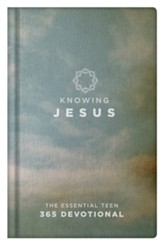 Knowing Jesus: The Essential Teen 365 Devotional, Blue Hardcover