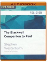 The Blackwell Companion to Paul - unabridged audio book on MP3-CD