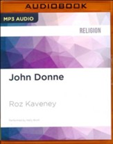 John Donne - unabridged audio book on MP3-CD