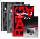 Saxon Algebra 2 Kit & DIVE CD-Rom, 3rd Edition