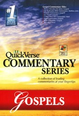QuickVerse Commentary Series 1- Gospels - Slightly Imperfect