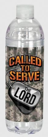 Called To Serve the Lord Water Bottle