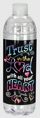 Trust In the Lord Water Bottle