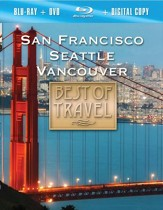 SAN FRANCISCO/VANCOUVER/SEATTLE: Explore the scenic treasures of the Pacific Northwest - DVD