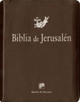 Biblia de Jerusalen: Nueva Ed., Piel Imit. Marron con Cremallera  (The Jerusalem Bible: New Ed.,  Brown Imit. Leather, Zipper)