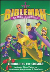 Bibleman, The Animated Adventures: Clobbering the Crusher, DVD