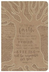 NKJV Large Print Personal Size Reference Bible, Natural Faith LeatherTouch