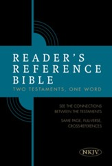 NKJV Reader's Reference Bible, Hardcover