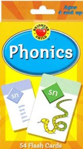 Brighter Child Phonics Flash Cards