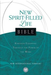 NIV New Spirit-Filled Life Bible: Kingdom Equipping Through the Power of the Word - eBook
