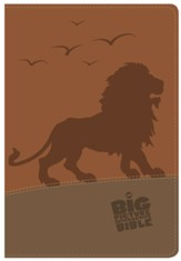 The CSB Big Picture Interactive Bible, Lion LeatherTouch
