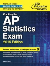 Cracking the AP Statistics Exam,  2015 Edition - eBook