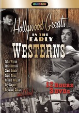 Hollywood Greats in the Early Westerns - 3 pack