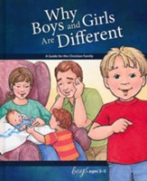 Why Boys and Girls are Different: For Boys Ages 3-5, revised & updated