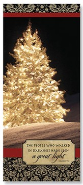 Great Light Christmas Cards, Pack of 20