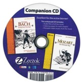 Sebastian Bach and Mozart Companion CD Audio MP3 CD
