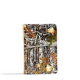 CSB Sportsman's Bible, Large Print Compact Edition, Mothwing Camouflage LeatherTouch