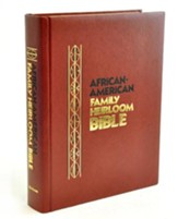 KJV African-American Family Heirloom Bible   - Slightly Imperfect