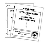 Advanced High School or College Elective: Introduction to Christian Counseling SCORE Keys 1-10