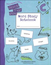 Words Their Way Level C Student Notebook, Grade 3