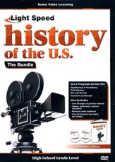 Light Speed History of the U.S. DVD Bundle (4 DVDs)