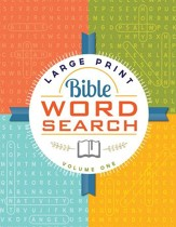 Large Print Bible Word Search: Volume 1