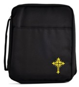 The Lutheran Study Bible Cover, Black