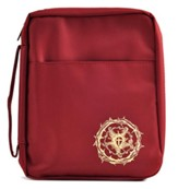 The Lutheran Study Bible Cover, Burgundy