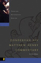 Zondervan NIV Matthew Henry Commentary - eBook
