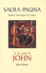 1, 2, and 3 John: Sacra Pagina [SP]  - Slightly Imperfect