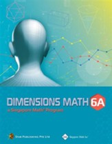 Dimensions Math Textbook 6A