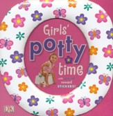 Girls' Potty Time With Reward Stickers
