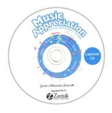 Music Appreciation for the Elementary Grades Lapbook CD-ROM