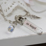 You Are An Angel, Message In A Bottle Necklace